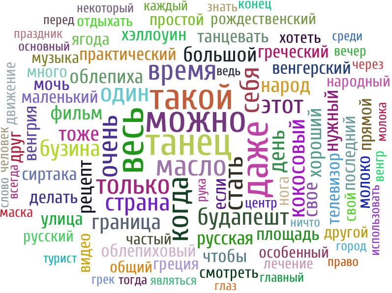 день (59), такой (42), весь (42), праздник (39), даже (35), только (34), венгрия (34), много (33), россия (33), этот (32), вакцинация (26), один (26), человек (25), мочь (25), можно (24), число (23), свое (22), ленин (20), новое (20), прививка (19), страна (19), свой (19), стать (19), когда (18), сегодня (17), простой (17), митинг (17), февраль (17), хотеть (16), акция (16), очень (16), гражданин (16), большой (15), чтобы (15), тоже (15), река (15), друг (15), москва (15), советский (14), победа (14), любить (14), врач (14), вакцина (14), народ (14), нужный (14), начать (14), март (13), карантин (13), очередь (13), если (13), время (13), пост (13), очко (13), первое (13), поэтому (13), мусор (13), рождение (13), жизнь (13), считать (13), днть (13), любовь (12), мавзолей (12), маска (12), будапешт (12), принять (12), навальный (12), город (11), общий (11), первый (11), красный (11), блог (11), прошлое (11), кпрф (11), украина (11), интернет (11), слово (11), пасха (11), закон (11), трава (10), пандемия (10), назад (10), полиция (10), из-за (10), российский (10), мероприятие (10), себя (10), теперь (10), блондинка (10), коронавирус (10), другой (10), получить (10), протест (10), медицинский (10), борьба (9), оказаться (9), какой (9), мужчина (9), пациент (9), многий (9)